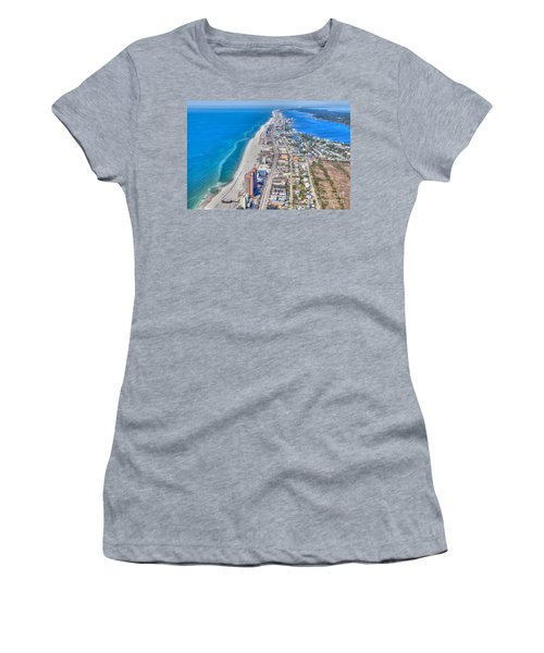 Gulf Shores Beach Looking W Women's T-Shirt