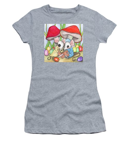 Gum Drops Women's T-Shirt (Athletic Fit)