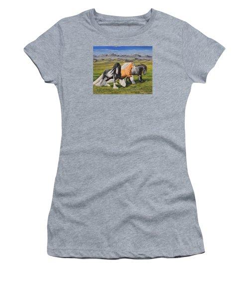 Gypsy Medley Women's T-Shirt (Junior Cut) by Ruanna Sion Shadd a'Dann'l Yoder