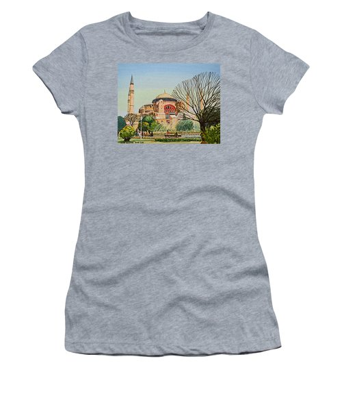Hagia Sophia Women's T-Shirt (Athletic Fit)