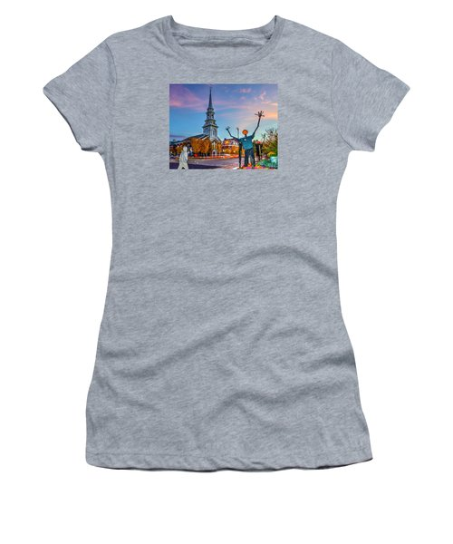Halloween In Portsmouth 746 Women's T-Shirt (Athletic Fit)