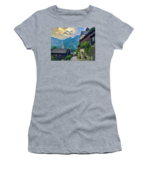 Hallstatt Village Stroll Women's T-Shirt