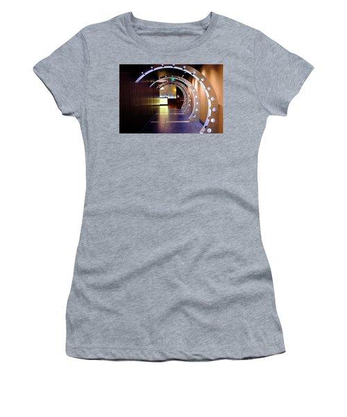 Hallway Leading To A Bar In Orlando Florida Women's T-Shirt