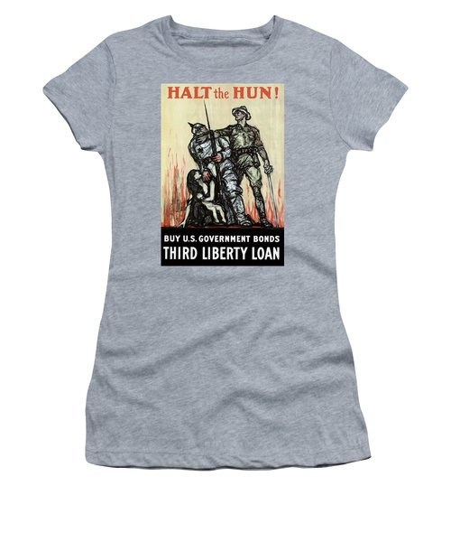 Halt The Hun - Ww1 Women's T-Shirt