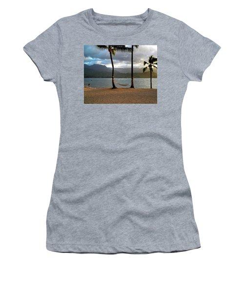Hammock At Hanalei Bay Women's T-Shirt