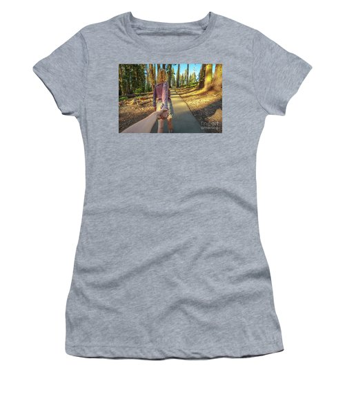 Hand In Hand Sequoia Hiking Women's T-Shirt