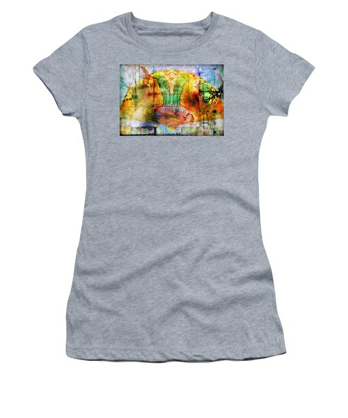 Handheld Fan Women's T-Shirt