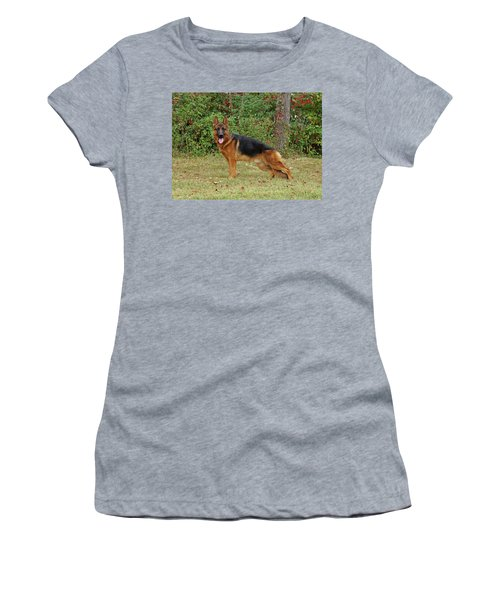 Women's T-Shirt (Junior Cut) featuring the photograph Handsome Rocco by Sandy Keeton