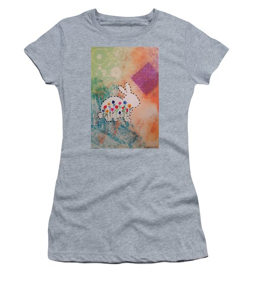 Happy Garden Women's T-Shirt (Athletic Fit)