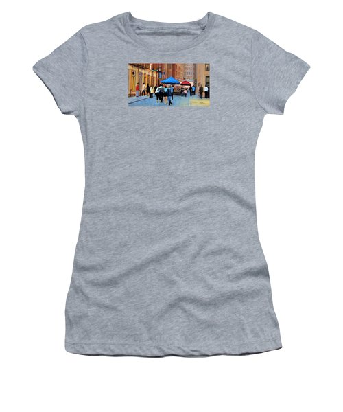 Happy Hour On Stone St. Nyc Women's T-Shirt (Athletic Fit)