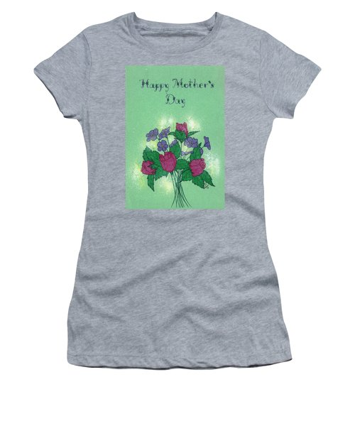 Happy Mother's Day  Women's T-Shirt (Athletic Fit)