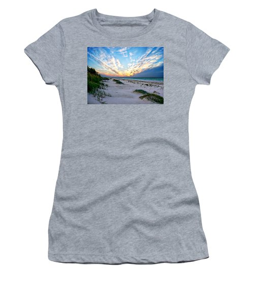 Harbor Island Sunset Women's T-Shirt (Junior Cut) by Anthony Dezenzio