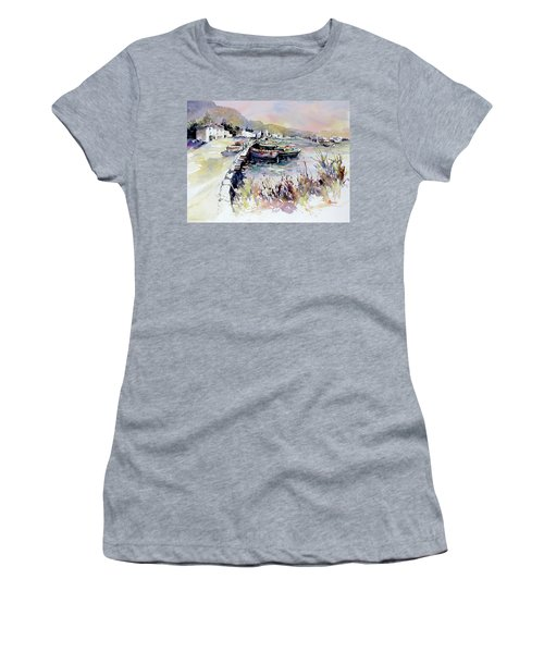 Harbor Shapes Women's T-Shirt (Athletic Fit)