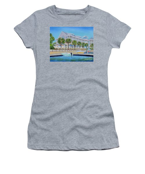 Harborside Marina Women's T-Shirt (Athletic Fit)