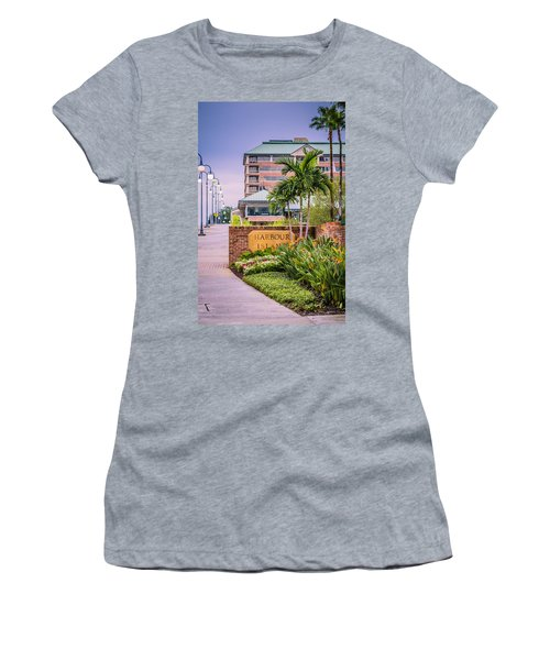 Harbour Island Retreat Women's T-Shirt (Athletic Fit)