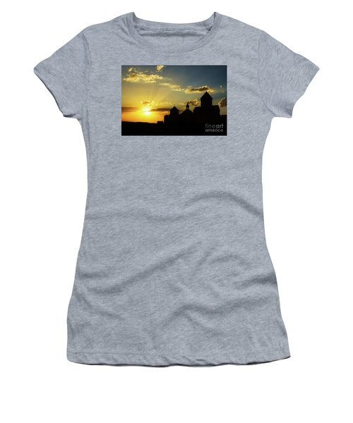 Harichavank Monastery At Sunset, Armenia Women's T-Shirt (Athletic Fit)