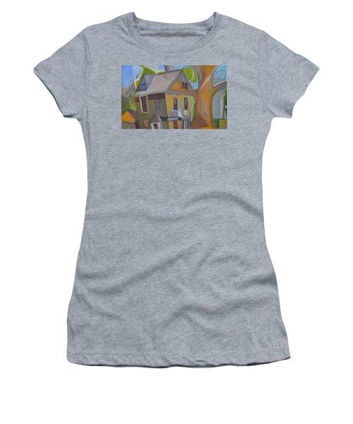 Harry's Tree Women's T-Shirt (Junior Cut) by Ron Erickson