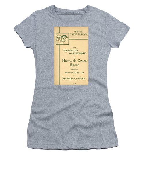 Harve De Grace Races Women's T-Shirt