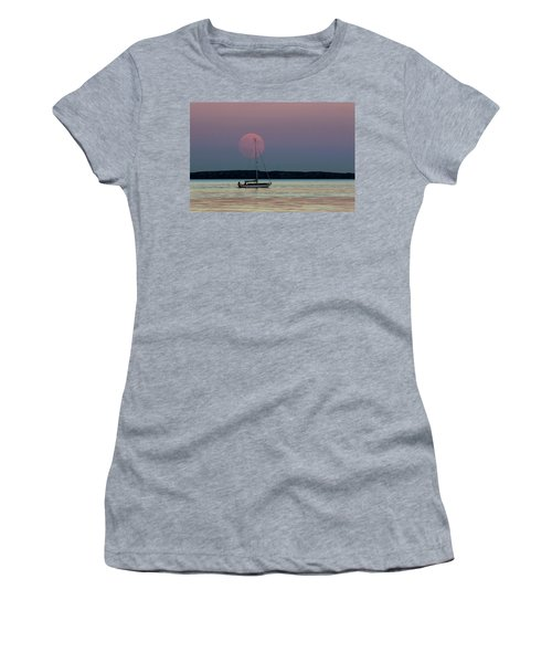 Harvest Moon - 365-193 Women's T-Shirt (Junior Cut) by Inge Riis McDonald