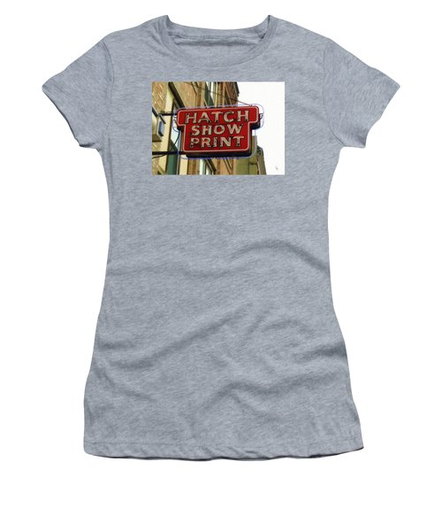 Hatch Show Print Women's T-Shirt (Junior Cut)