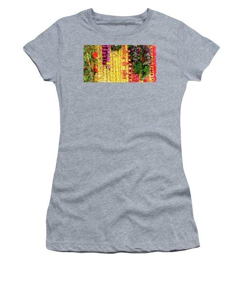 Hawaiian Flower Lei's Women's T-Shirt