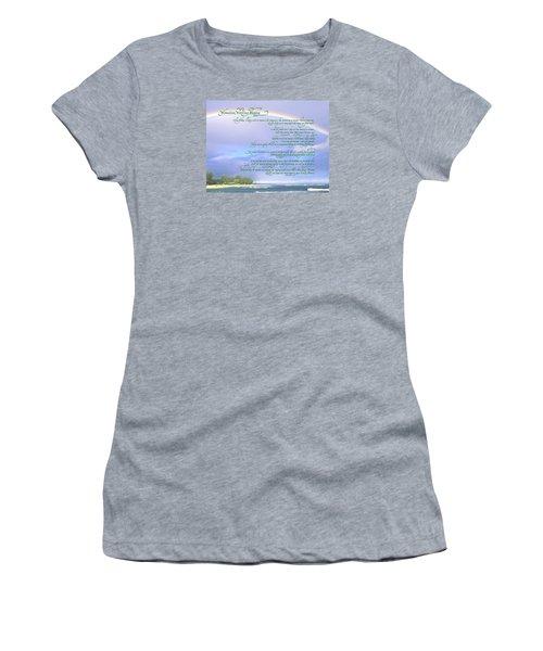 Hawaiian Language Wedding Blessing Women's T-Shirt