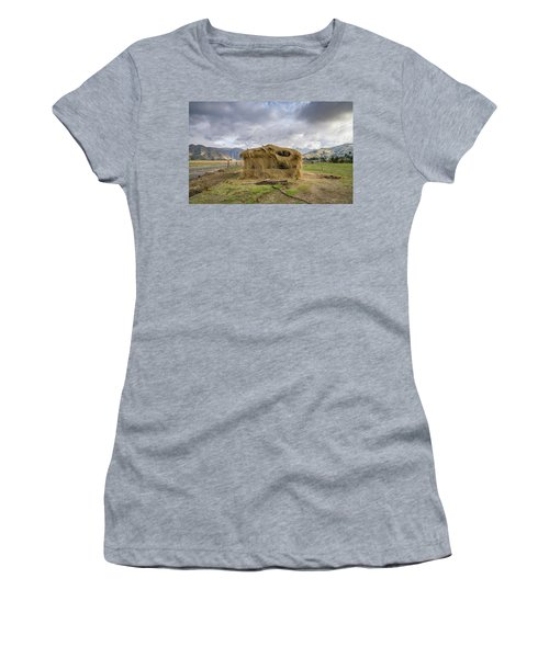 Hay Hut In Andes Women's T-Shirt