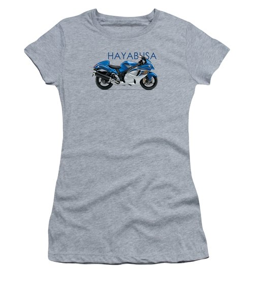 Hayabusa In Blue Women's T-Shirt (Athletic Fit)