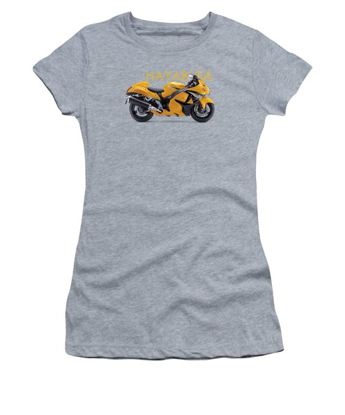 Hayabusa In Yellow Women's T-Shirt (Athletic Fit)