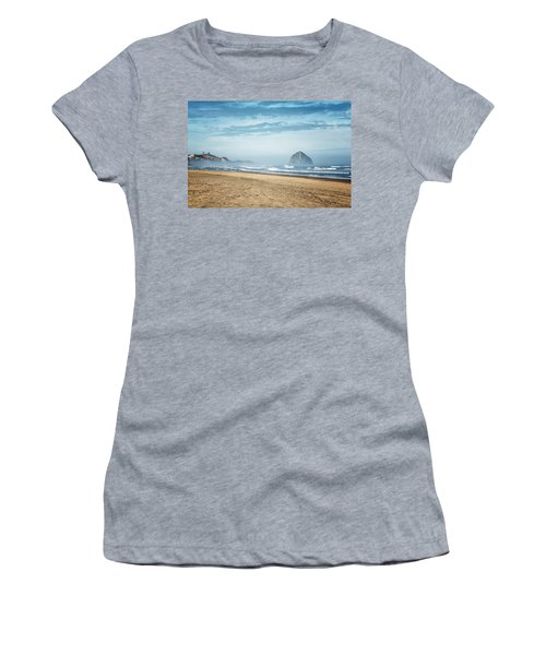 Haystack Rock Pacific City Women's T-Shirt