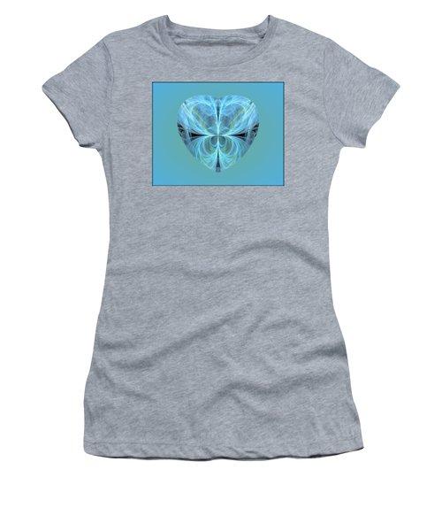 Heart - Ghost Blue Women's T-Shirt