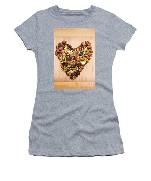Heart Healthy Snacks Women's T-Shirt