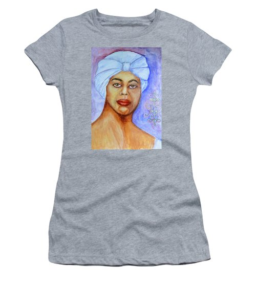 Heart Of Love  Marie Laveau Women's T-Shirt (Athletic Fit)