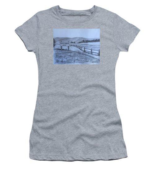 Hearts Desire Beach Women's T-Shirt (Junior Cut) by Tony Clark