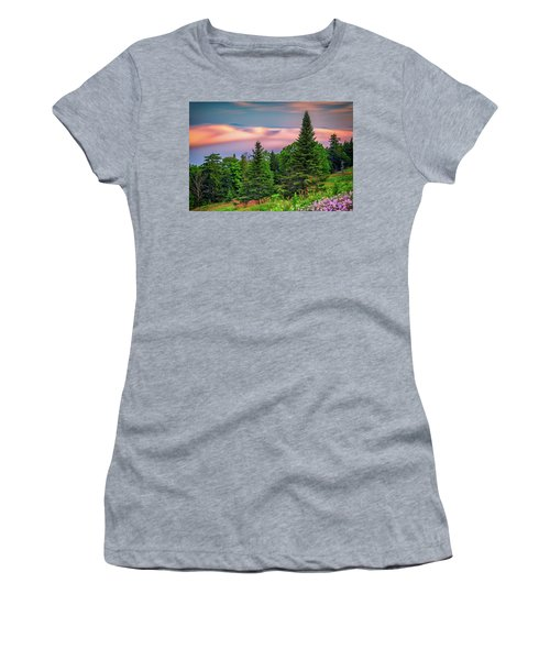 Women's T-Shirt (Athletic Fit) featuring the photograph Height Of Land by Rick Berk