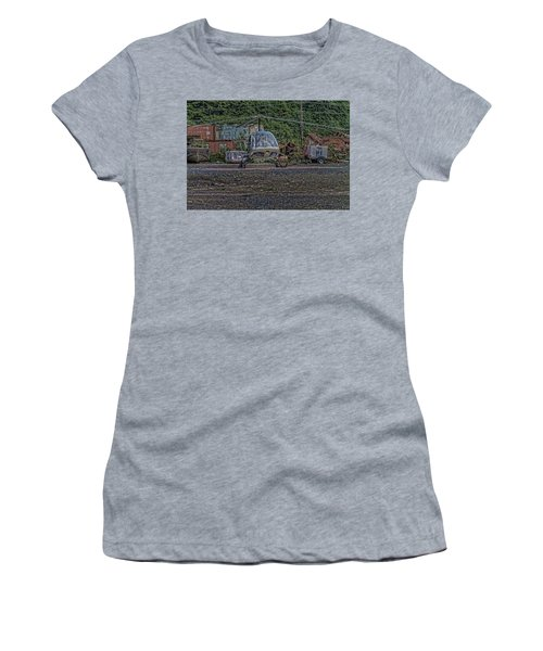 Help 4 Women's T-Shirt (Junior Cut) by Timothy Latta