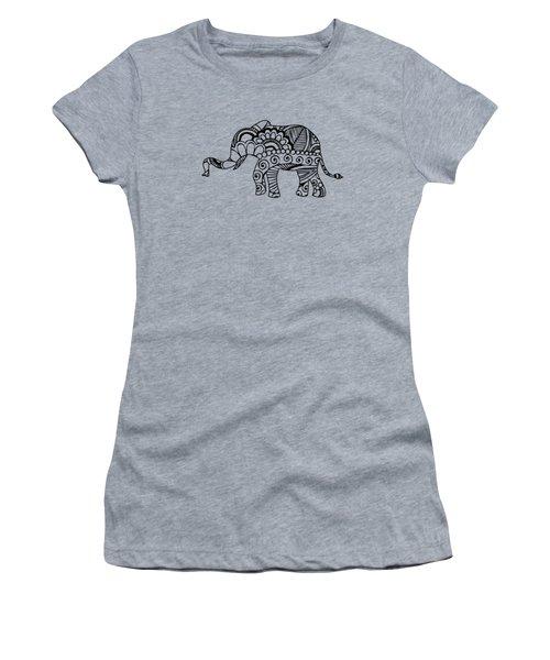 Henna Elephant 1 Women's T-Shirt