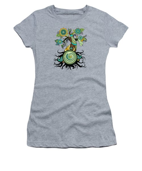 Henna Tree Of Life Women's T-Shirt (Athletic Fit)