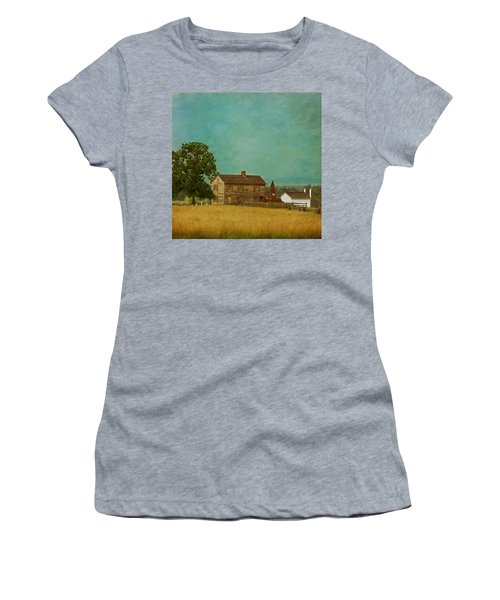 Henry House At Manassas Battlefield Park Women's T-Shirt (Athletic Fit)