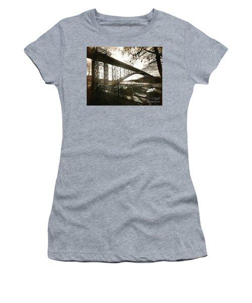 Henry Hudson Bridge, 1936 Women's T-Shirt (Junior Cut)