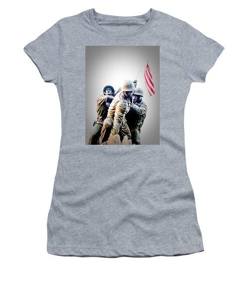 Heroes Women's T-Shirt (Junior Cut) by Julie Niemela