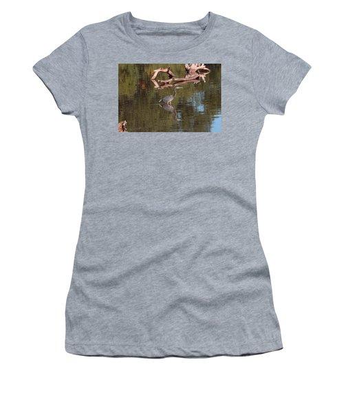 Heron Reflection Women's T-Shirt