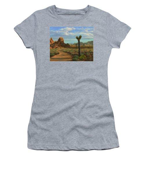 Hi Desert Road Women's T-Shirt (Athletic Fit)