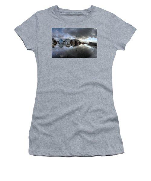 Higbee Flooding Women's T-Shirt (Junior Cut) by John Loreaux