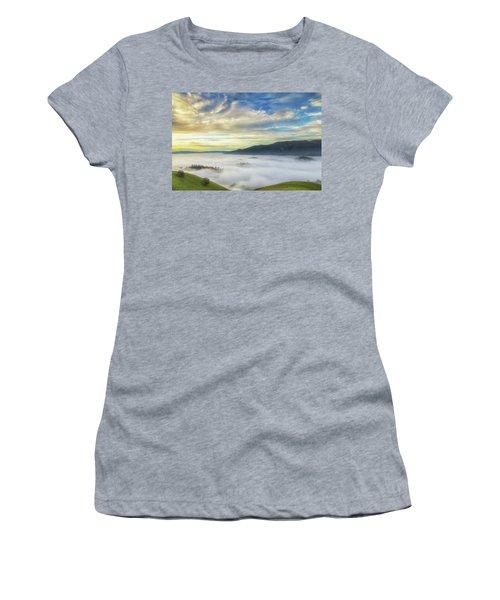 High Clouds Above Fog Women's T-Shirt