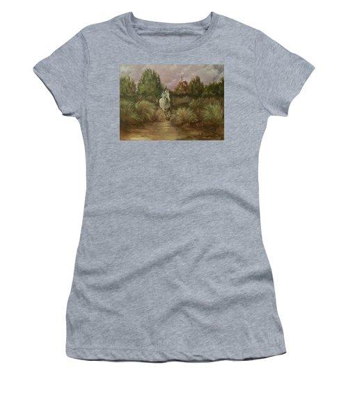 High Desert Runner Women's T-Shirt (Athletic Fit)