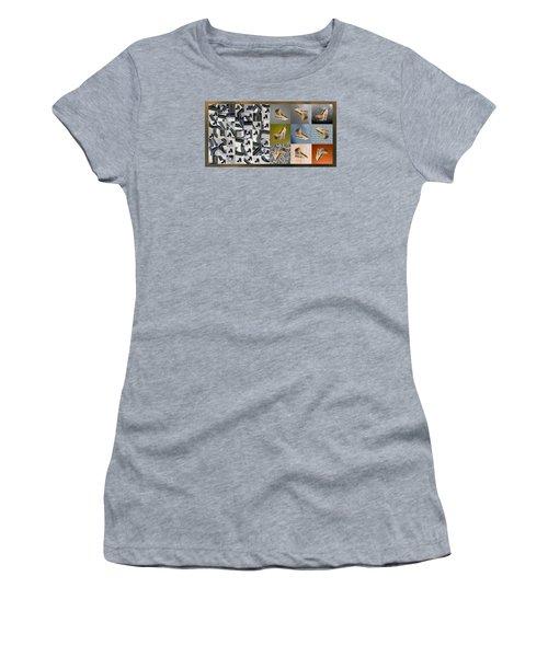 High Heel Study Women's T-Shirt (Junior Cut) by Paul Moss