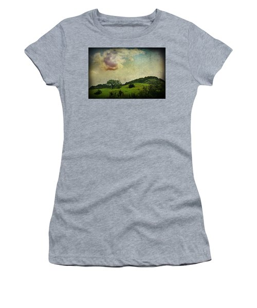 Women's T-Shirt featuring the photograph Higher Love by Laurie Search