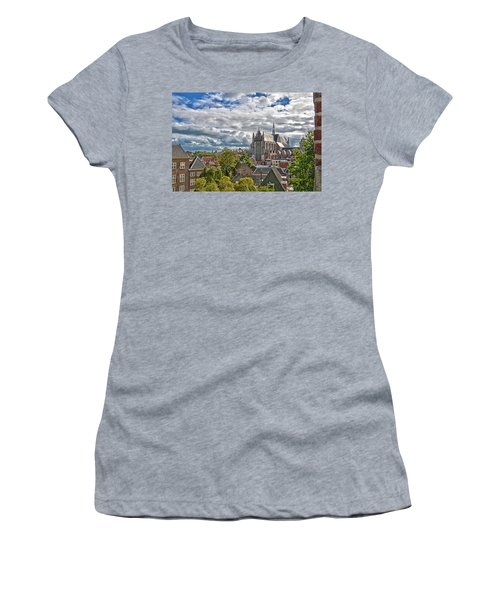 Highland Church Seen From Leiden Castle Women's T-Shirt