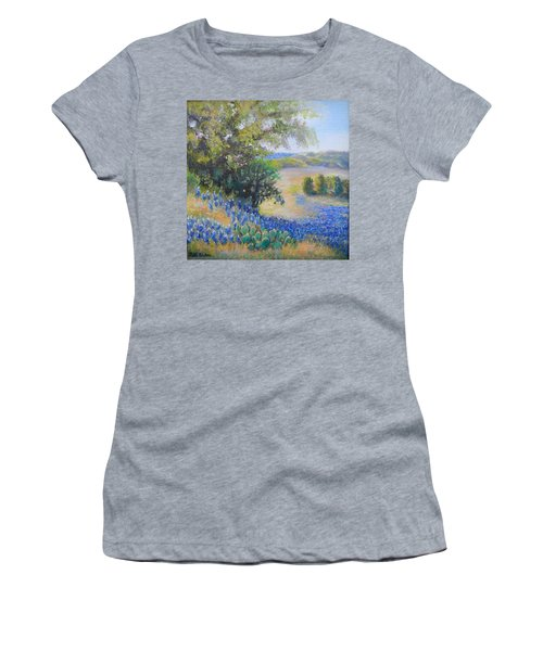 Hill Country View Women's T-Shirt (Junior Cut) by Patti Gordon